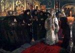 Посещение царевной женского монастыря